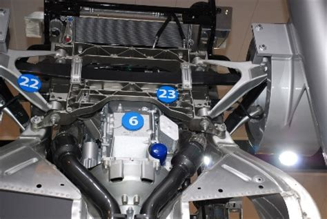 Packing Block Bawah Spacy F1 detroit 2008 corvette zr1 chassis display autoblog