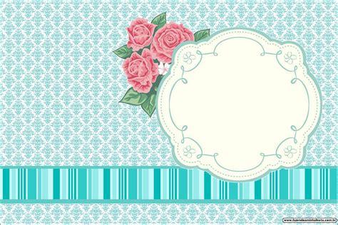 moldes de flores fazendo a minha festa 1 convite4 jpg