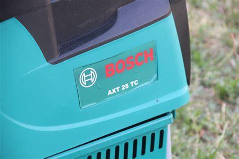 Bosch Häcksler Axt 25 Tc 2 by Bosch Axt 25 Tc Garten H 228 Cksler 2500 W 230 Kg H 216 45 Mm 40