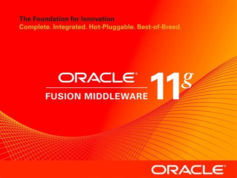 tutorial oracle bpm suite 11g oracle bpm suite 11g overview slide