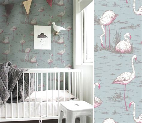 tapisserie chambre d enfant papiers peints natures pour une chambre d enfant au