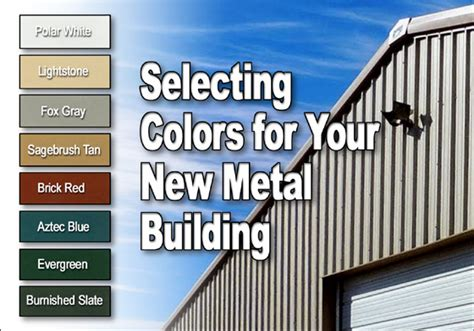 metal building colors selecting metal building colors colors for barns