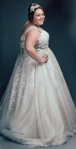 Casual Wedding Dresses Large Size 40 by The Big Day Plus Size Bridal Shop Where Every Is