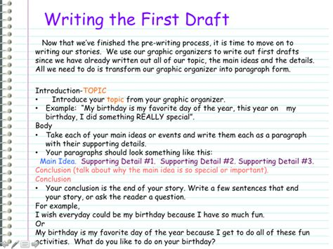 Draft Exle Of Essay by Draft Writing A Personal Narrative