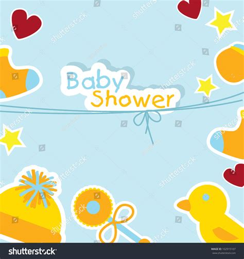 Baby Boy Stuff For Baby Shower by Baby Shower Background For Baby Stuff Greeting Cards And