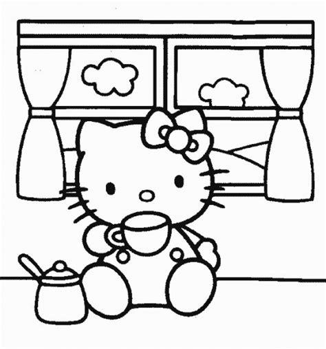 imagenes de hello kitty a blanco y negro ילדים דים דפי צביעה הלו קיטי