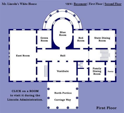 wh floor plan white house map my