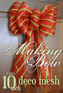 best 25 mesh bows ideas on pinterest deco mesh bows