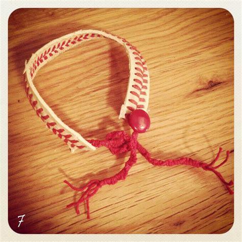 diy baseball bracelet trusper