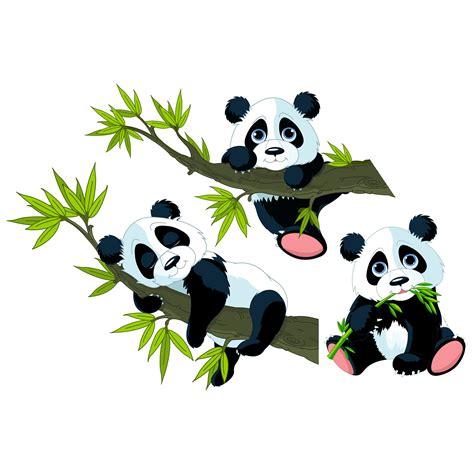 Wandtattoo Kinderzimmer Tiere Ebay by Wandtattoo Kinderzimmer Pandab 228 Ren Set Tiere Baby