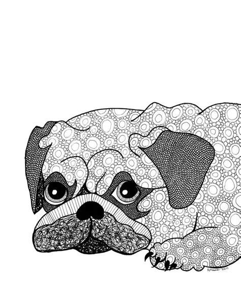 pug mandala 1000 ideen zu ausmalbilder hunde auf easy drawing tutorial hund zeichnen