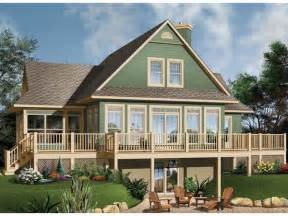 Lake House Plans With Basement Crestwood Lake Waterfront Home Plan 032d 0686 House