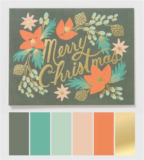 christmas color palette 52 best color schemes images on pinterest color palettes