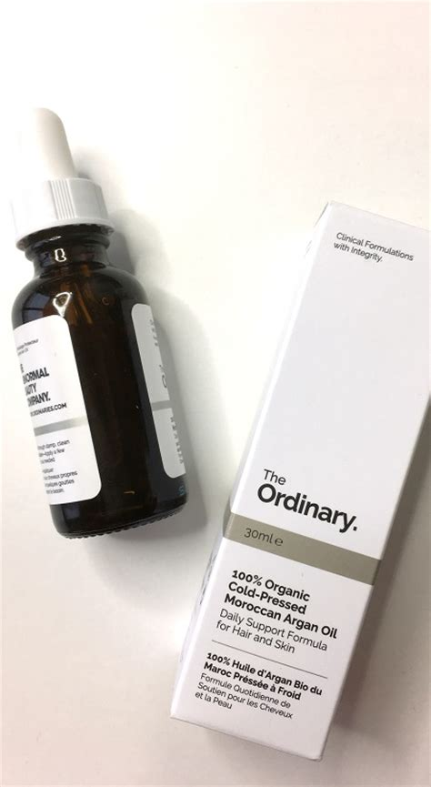 The Ordinary 100 Cold Pressed Morrocan Argan the ordinary the abnormal company the most
