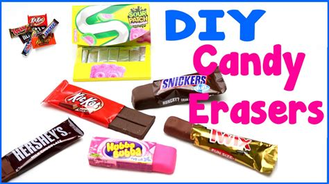 diy crafts 6 easy diy erasers cool unique craft