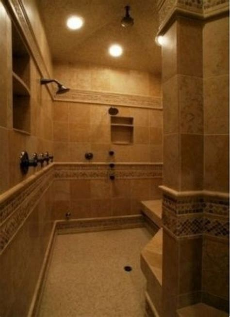 doorless shower ideas walk  dream bathrooms