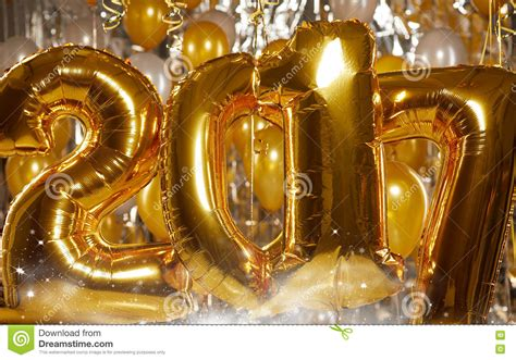 new year gold images happy 2017 gold new year balloons stock photo image