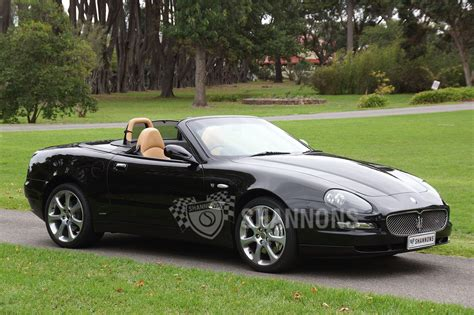 Sold Maserati 4200 Cambiocorsa Spyder Auctions Lot 42