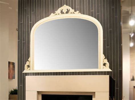50 x 36 mirror white arched top decorative ornate mirror large 50x36