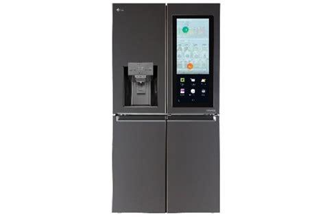 Lemari Es Di Electronic City lg hadirkan lemari es pintar dengan kendali suara di ces
