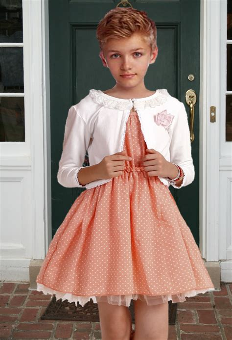 dainty little sissy boys in dresses hey it s gender role reversal day at school ivor wish