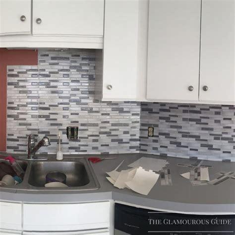 sticky backsplash for kitchen best 25 sticky tile ideas on pinterest sticky tile