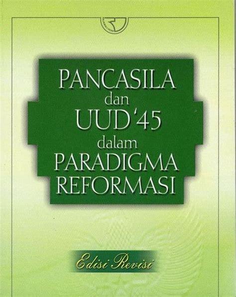 Sistem Ekonomi Pancasila Dalam Perspektif Buku Ekonomi Dan Akuntans e t a l a s e b u k u pancasila dan uud 1945 di era reformasi