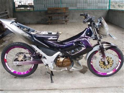 Moto Rx King Tahun 2006 motorcycle 170cc honda supra fu modified motor modif