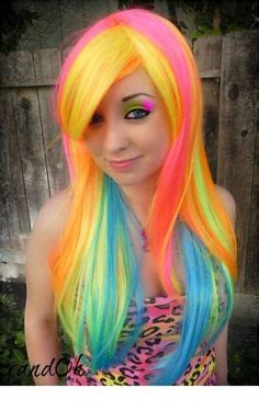 brightest color in the world 1000 images about shiny and bright haircolors on