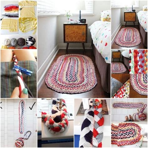 How To Make A Mat by How To Make Floor Mats With Used Cloth Step By Step Diy