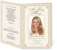 Funeral Card Template Publisher by 1000 Images About Memorial Legacy Program Templates On
