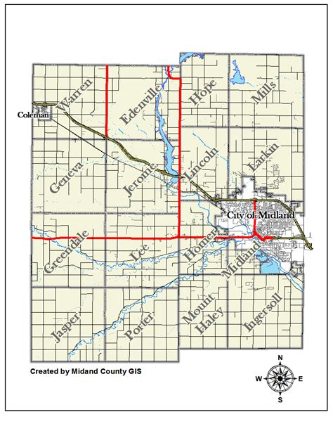 Midland County Records County Of Midland Michigan Gt Equalization Gt Tax Maps