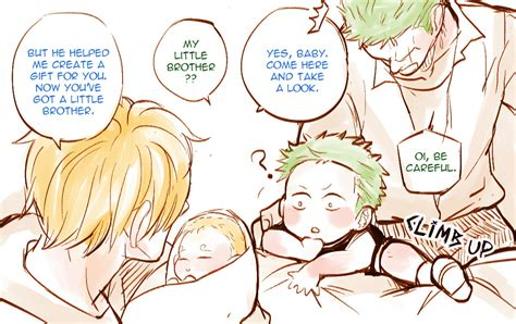 One Graphic 23 my artwork mpreg zosan zosan big family sanji zosan
