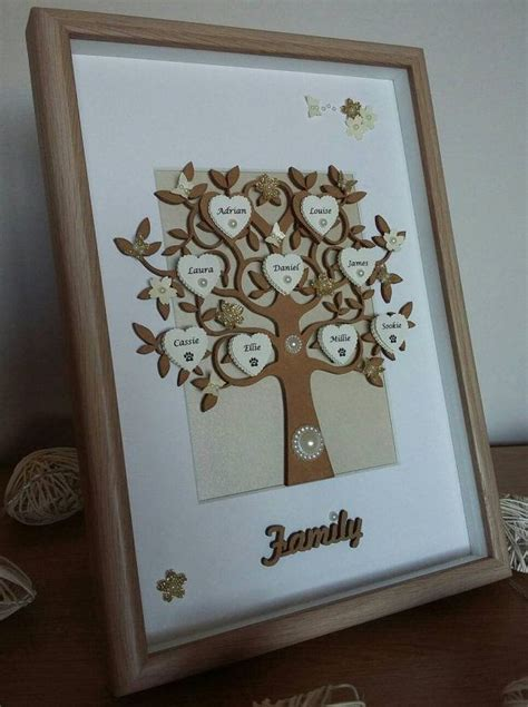 Handmade Family Tree Ideas - 17 best ideas about family tree picture on