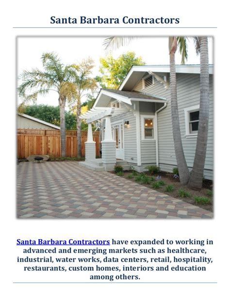 general contractor santa contracting general contractors in santa barbara ca
