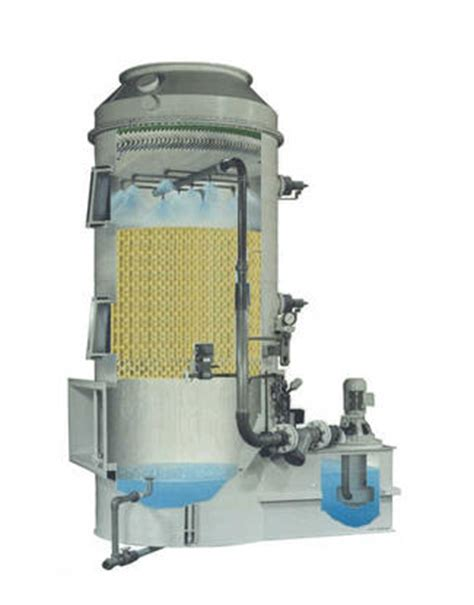 chlorine gas exhaust fans gas scrubbers