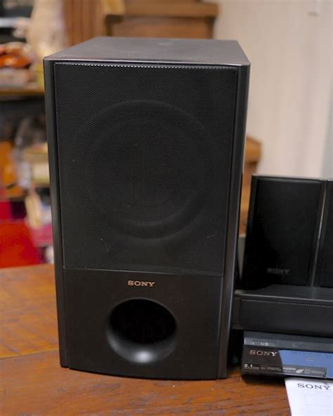 sony ht ss2300 home theater system speakers subwoofer