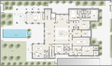District House Floor Plans - modern arabic house plans house plans