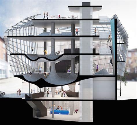Salle De Sport Futuriste by Folkestone Sports Park Un Skatepark Futuriste Sur 6 233 Tages