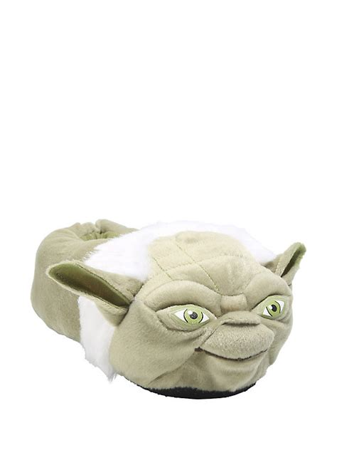 slippers wars wars yoda plush slippers topic