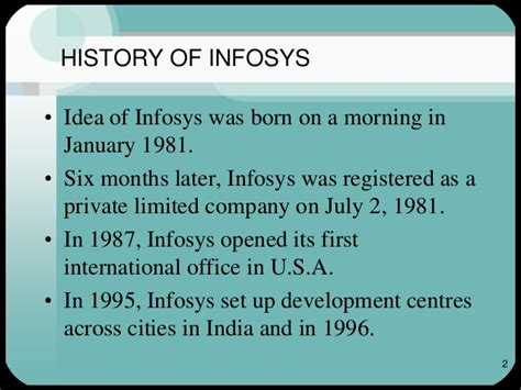 Infosys Onsite Opportunities For Mba In India by Infosys Ethics Cg