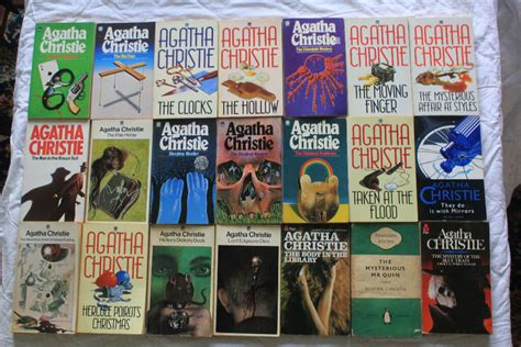 agatha christie best books a collection of 70 agatha christie books including poirot