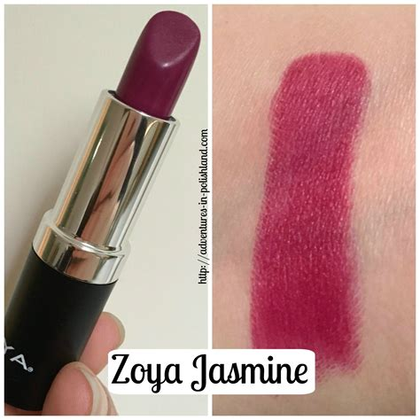 Review Lipstik Zoya zoya lipstick swatches review of 12 collection adventures in polishland