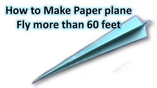 Ways To Make A Paper Airplane Fly Farther - 4 amazing weapons made from paper jlaservideo clip60