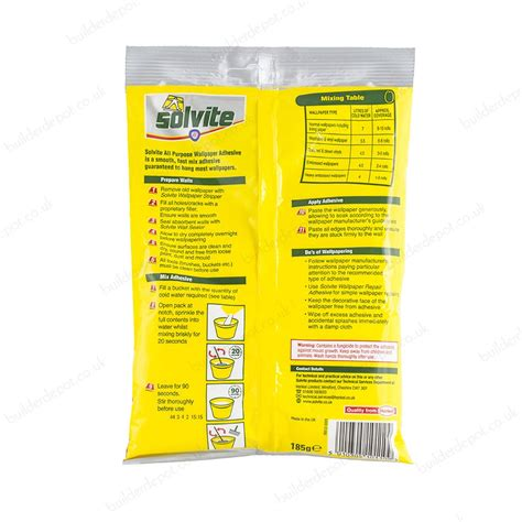 wallpaper paste for the wall solvite all purpose economy wallpaper adhesive 10 roll