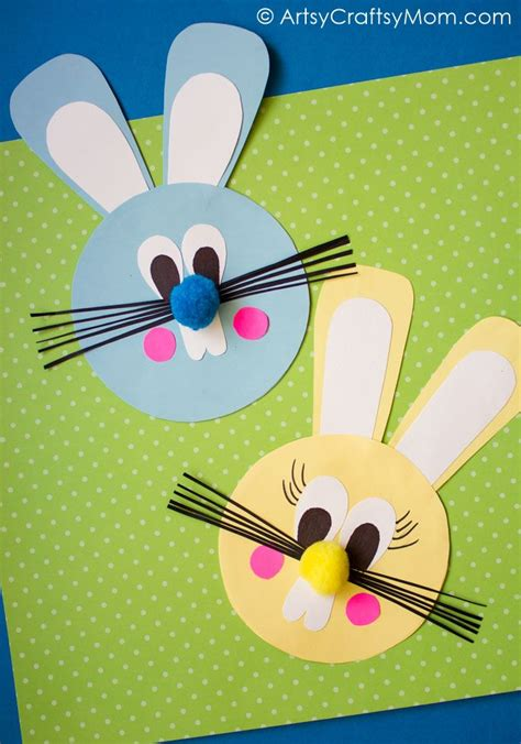 Paper Craft Rabbit - easy easter bunny paper craft easter bunny bunny and easter