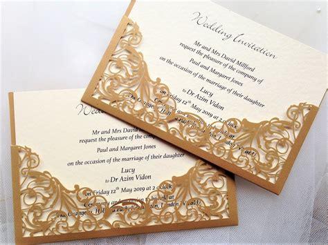 gold and wedding invitations uk gold wedding invitations gold wedding invites