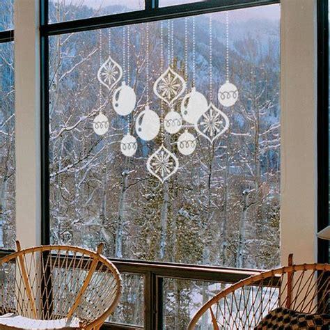 decoracion de cristales decorar las ventanas con vinilos navide 241 os blog hogarmania