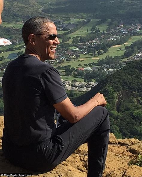 president obama s hawaii vacations barack obama hits the hiking trail on first family s