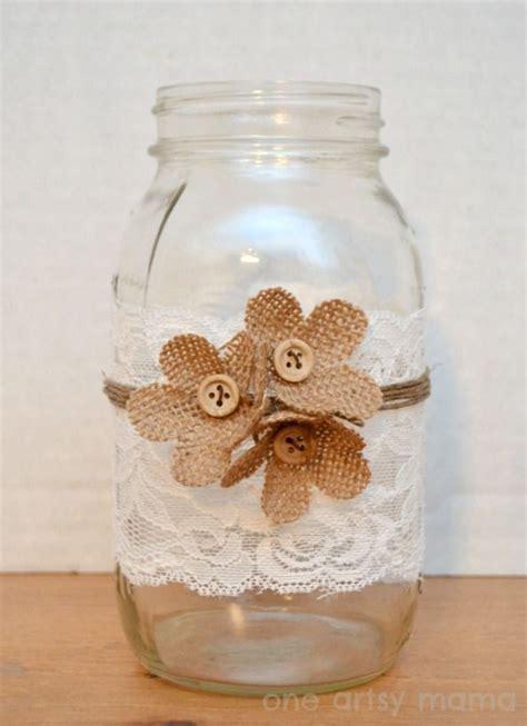 decorar jarrones con yute decoraci 211 n con yute diy cristal